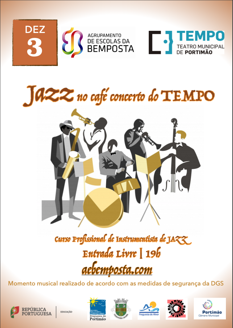Jazz no Café Concerto do TEMPO