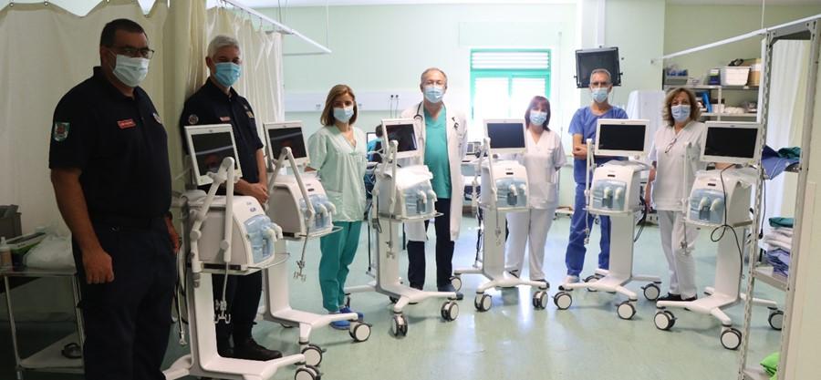 01.07.2020  | Município de Portimão entrega mais seis ventiladores topo de gama ao Hospital de Portimão