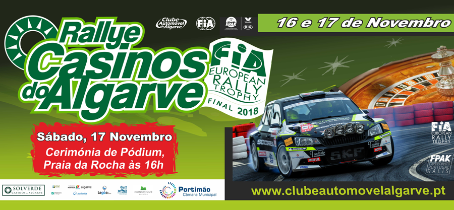 Rallye Casinos do Algarve 2018